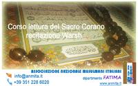 Corso lettura Sacro Corano